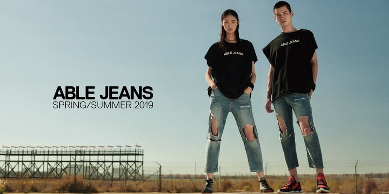Kang Sijia for ABLE JEANS 19SS campaign